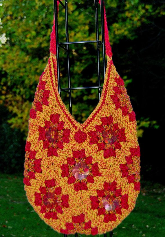 ... www.etsy.com/listing/83727392/crochet-granny-square-bag-set-with-fall