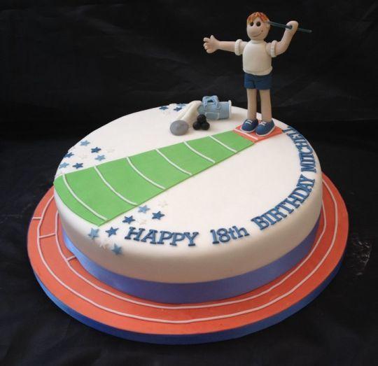Cross Country Cake Decorating Ideas 6213 Running Track Cak