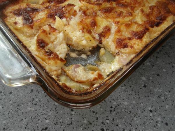 Red Onion Potato Gratin | Potato Passion | Pinterest