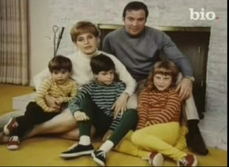 shatner and family