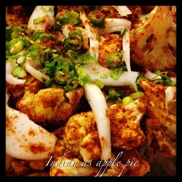 Spicy Tandoori Gobi – Cauliflower | Meatless Somedays | Pinterest