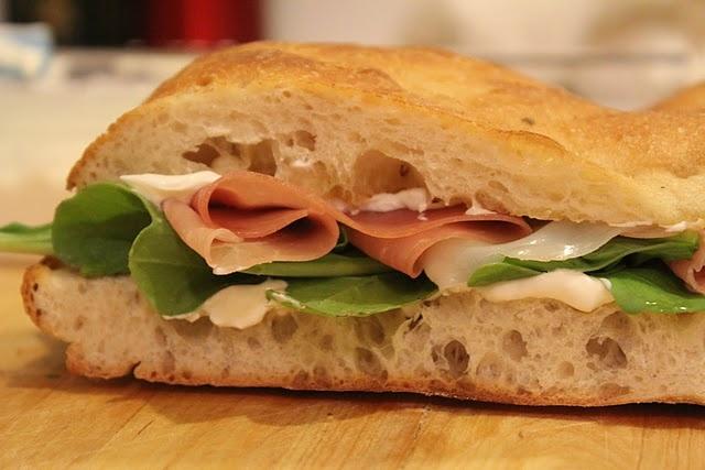Prosciutto, Arugula And Balsamic Sandwich Recipes — Dishmaps