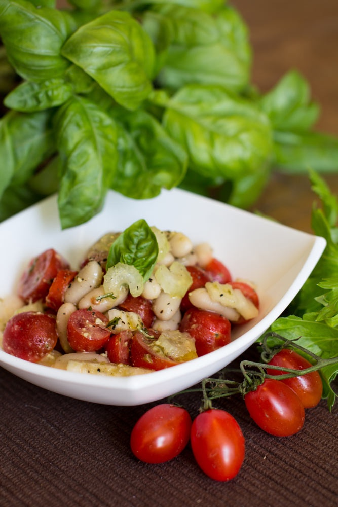 Cannellini beans and Pesto antipasto | Portfolio - Food styling | Pin ...