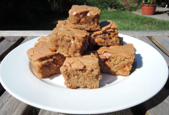 Maple Butterscotch Blondies | Baking | Pinterest