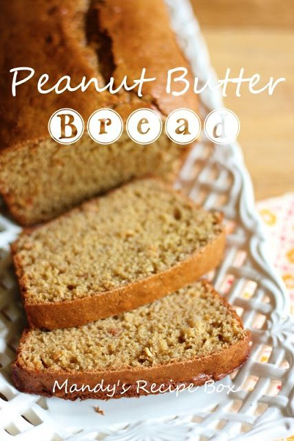 Mandy's Recipe Box: Peanut Butter Bread {Smart Balance Challenge}