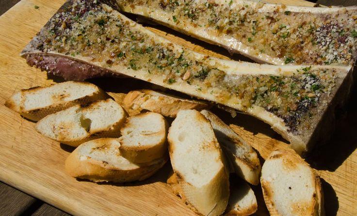 Prairie Butter - roasted beef marrow bones
