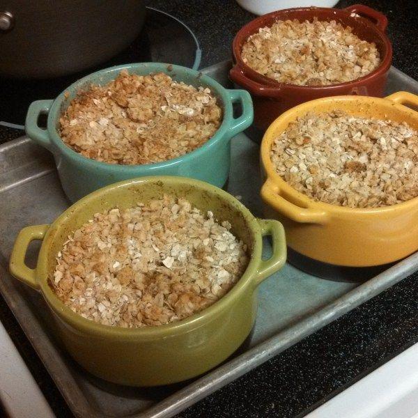 Lightened Up Apple Crisp | Sweet Treats | Pinterest