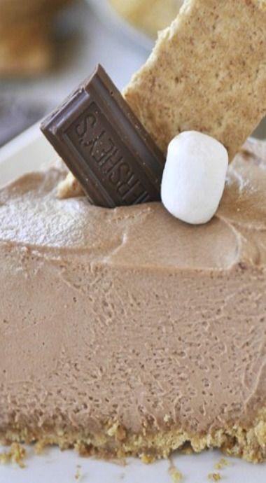 Chocolate S'mores Pie | Recipe