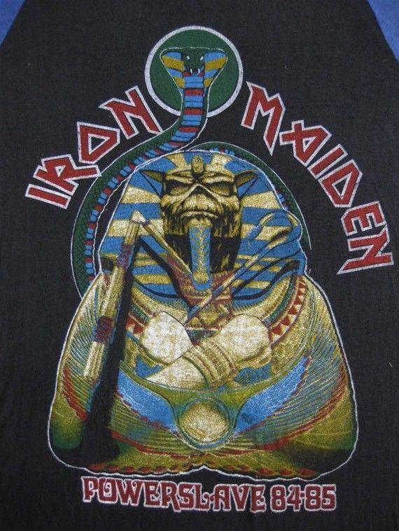 Iron Maiden Us Tour Merch