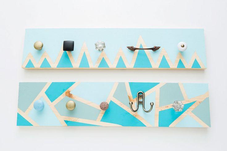 faire un porte manteau mural diy pinterest. Black Bedroom Furniture Sets. Home Design Ideas