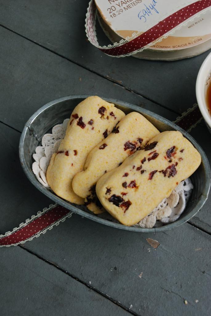 Cornmeal-Cherry Cookies Recipe — Dishmaps