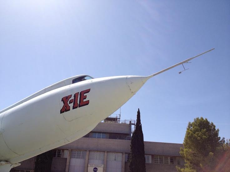 X-1E, an early supersonic test plane at NASA Dryden #nasasocial