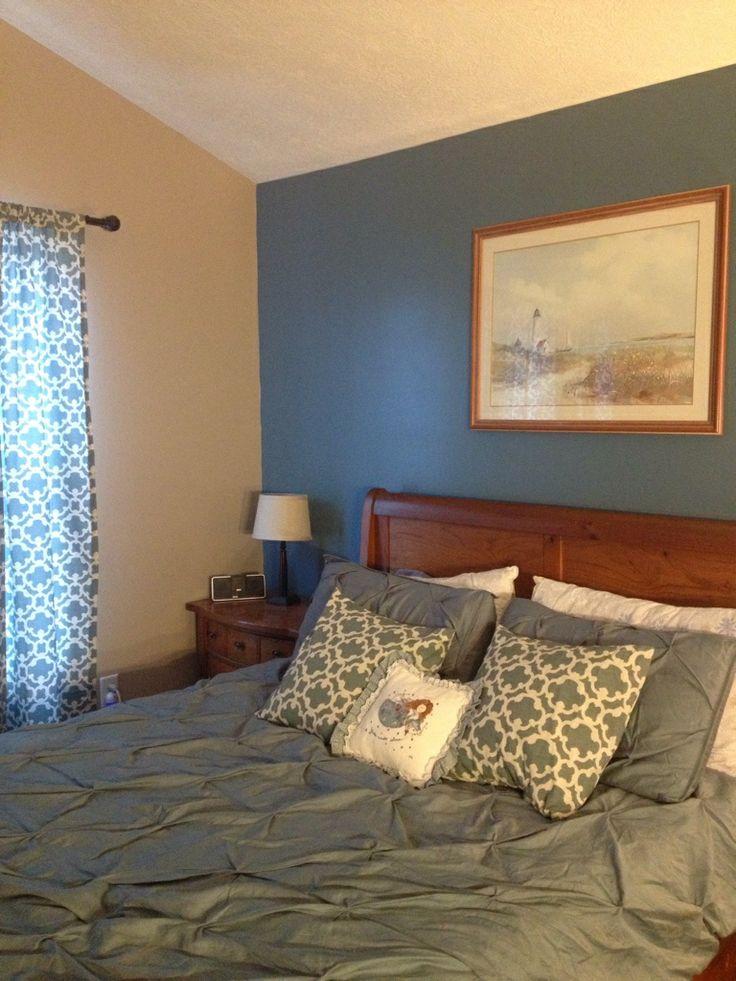 Blue and Brown Bedroom | Blue bedroom | Pinterest