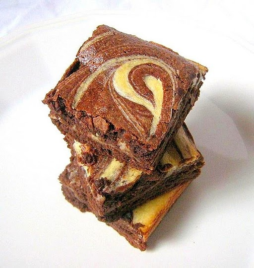 cream cheese marbled brownies | Sweets mmmmmmm! | Pinterest