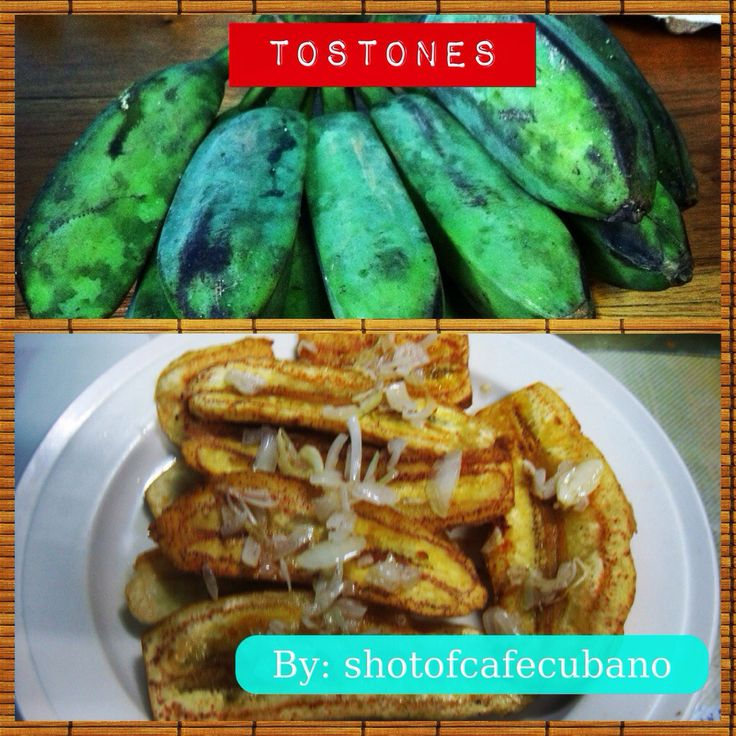 TOSTONES-I can always tell when my Cuban family is planning to make ...