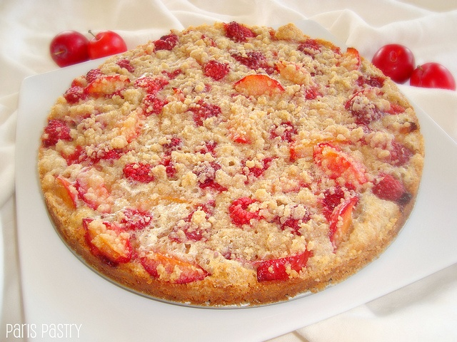 Paris Pastry: Raspberry Plum Crumb Tart | Munchies and things to sip ...