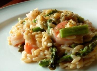 Asparagus Shrimp Risotto | Me So Hungy | Pinterest