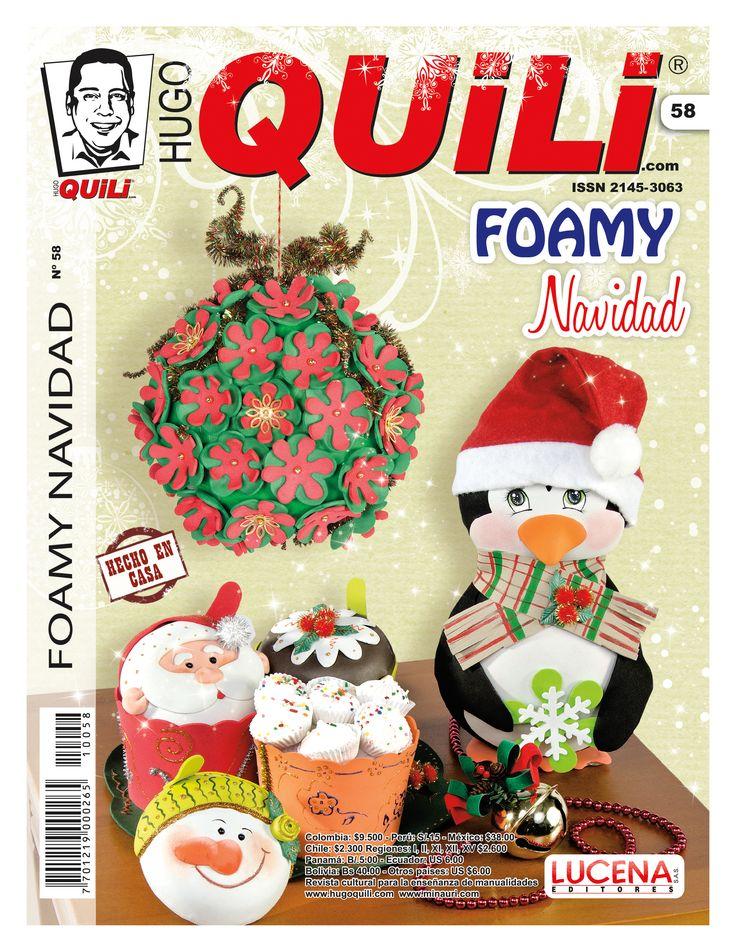 Revista Hugo Quili Foamy Navidad No  58