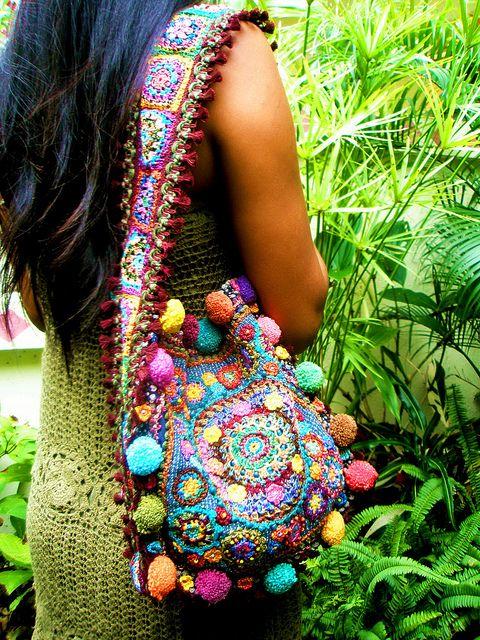 Beautiful Crochet Bags : Beautiful crochet bag Crochet Pinterest