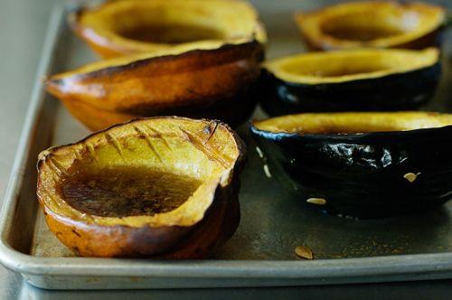 Delicious Baked Acorn Squash   Recipe