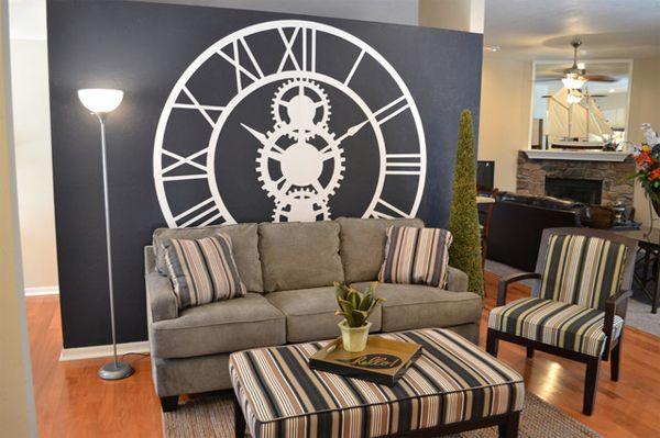 living room wall clocks 5 living room ideas pinterest