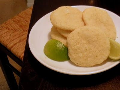 chewy lime sugar cookies | Sweet Tooth | Pinterest