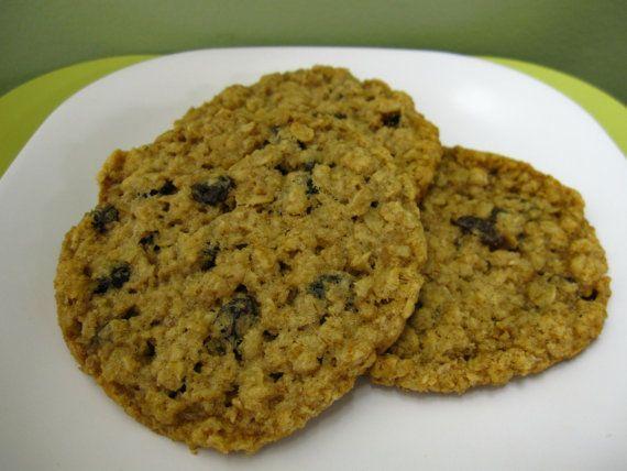 Oatmeal Raisin Cookies - Gluten-Free and Vegan