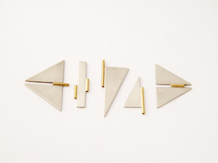 galit barak Brooches closures    Brass, nickel silver  2013