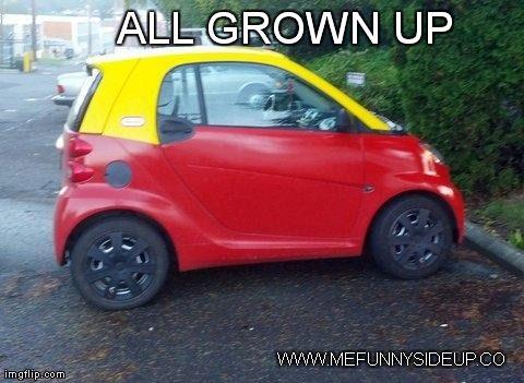 Mini Car All Grown Up Mefunnysideup Pinterest