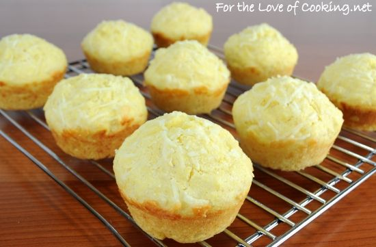 Parmesan Corn Bread Muffins | ~Recipes We Want to Try~ | Pinterest