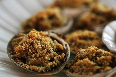 Baked Stuffed Clams | Yummy Appetizers & Recipes | Pinterest