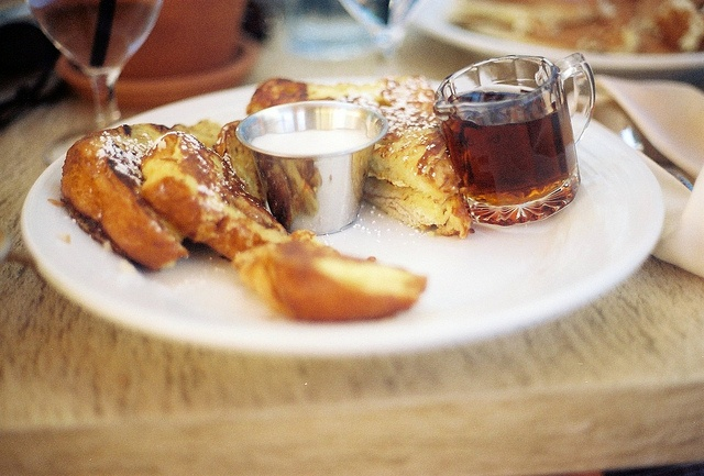 Simple and perfect french toast | Brunch Menus | Pinterest