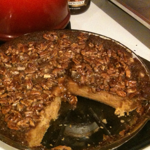 Sweet potato Pecan Pie | Food | Pinterest