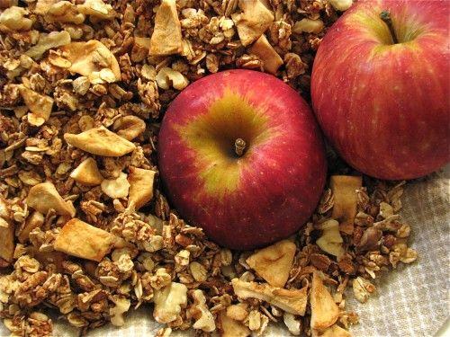 Apple Cinnamon Granola   Time for Breakfast   Pinterest