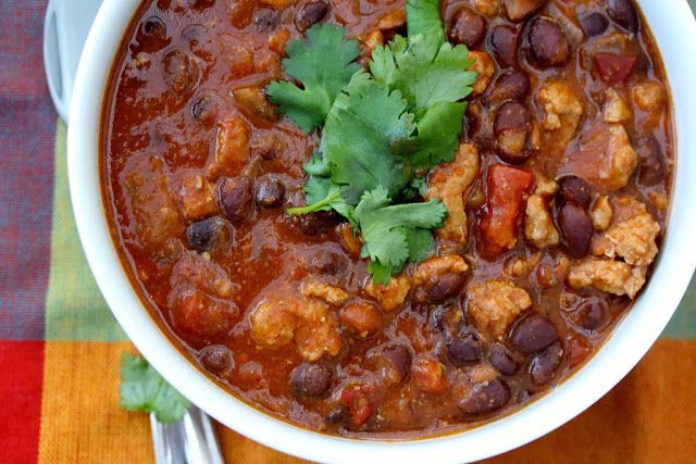 Slow Cooker Turkey Chili | {Recipes} Crock Pot Slow Cooker | Pintere ...