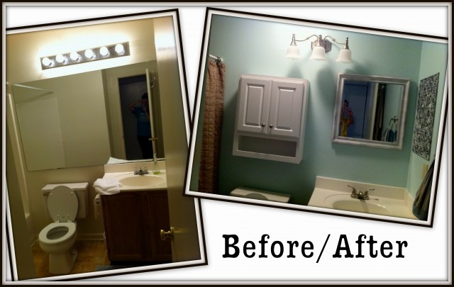 Bathroom Makeover On A Budget Bathroom Pinterest