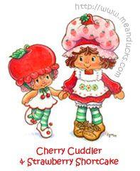 Cherry Cuddler & Strawberry Shortcake