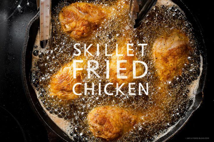 Skillet Fried Chicken Recipe - wish i had a cast iron skillet