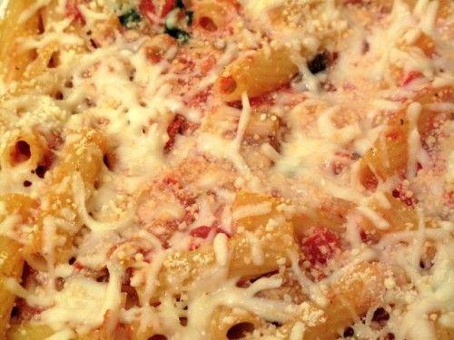 vegetarian baked ziti | Recipes | Pinterest