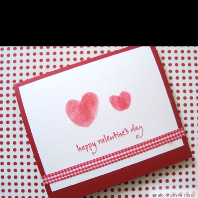 Pin by mary freyling on scrapbook ideas card making ideas for Cute homemade valentines day cards