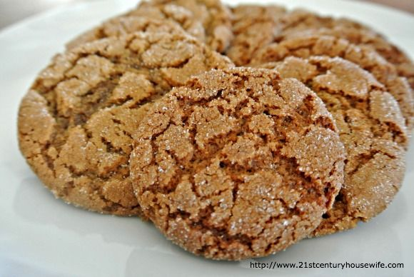 Orange Gingerbread Cookies   All Good Eats   Pinterest