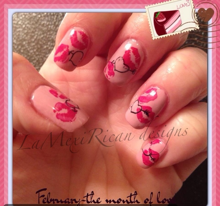 cute valentines nail designs tumblr