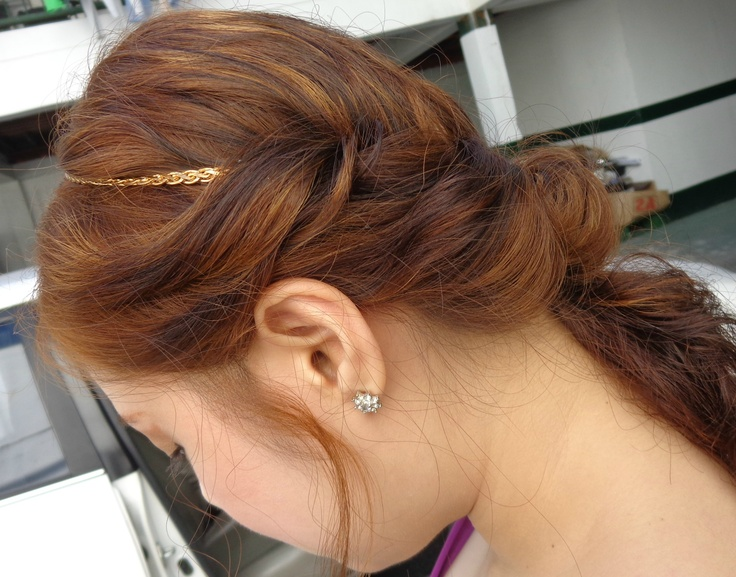 Wedding Guest Hairstyle Glam Pinterest