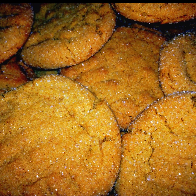 Chewy ginger cookies :) | Recipes I might try | Pinterest