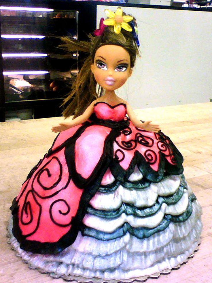 Bratz Doll Cake