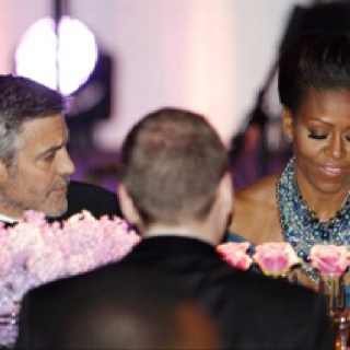 Gosh, who lucked out???  Michelle or George?