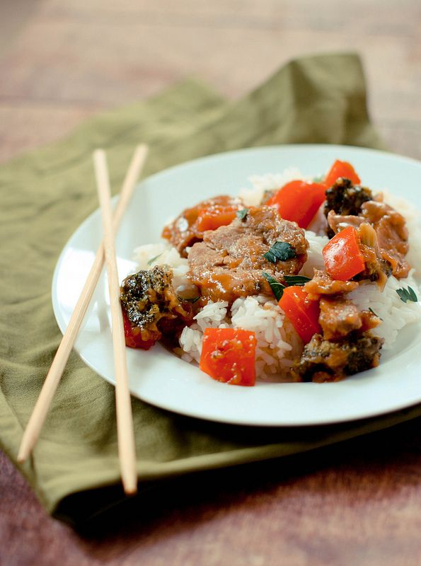 Ginger Pork Stir Fry | Food Bites | Pinterest
