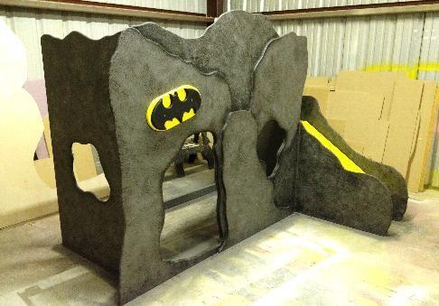 Batman Bunk Bed Boys Beds Unique Custom Themed Kids