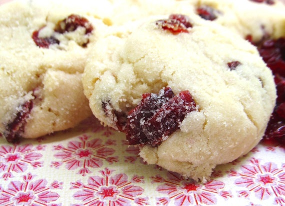 Cranberry Lemon Shortbread Cookies | FOOD!!! | Pinterest