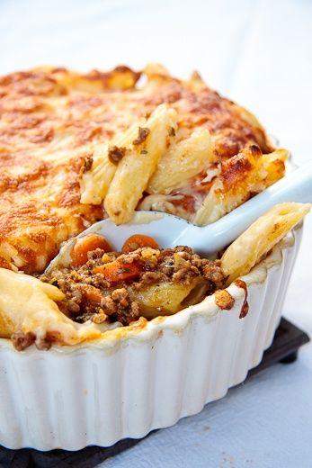 Greek Pastitsio | {Culinary Delights} | Pinterest